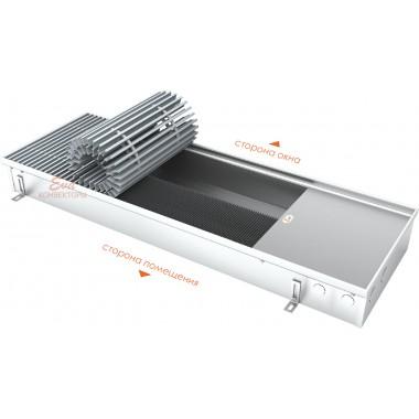 Встраиваемый в пол конвектор без вентилятора EVA K.125.303 (длина 2000 мм)