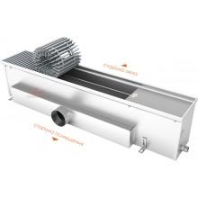 Встраиваемый в пол конвектор без вентилятора EVA К.200.258 (длина 1000 мм)