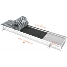 Встраиваемый в пол конвектор без вентилятора EVA K.80.258 (длина 2750 мм)