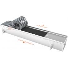 Встраиваемый в пол конвектор с тангенциальным вентилятором EVA KB.125.165 (длина 1000 мм)