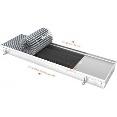 Встраиваемый в пол конвектор без вентилятора EVA KC.80.303 (длина 1500 мм)