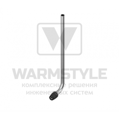 Монтажная трубка для подключения радиатора конечная TECElogo ∅ 16 х 15 мм Cu х 330 мм