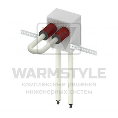 Монтажный узел для подключения радиатора TECElogo