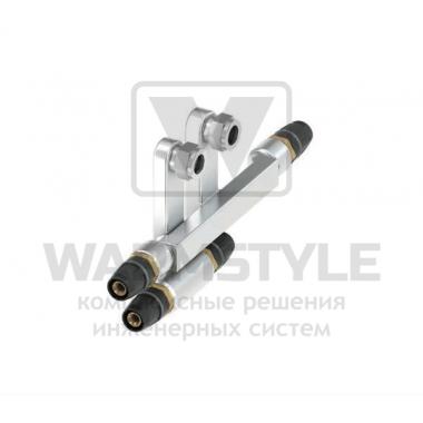 SLHK-Двойной тройник для подключения радиаторов TECElogo ∅ 16 мм х 15 Cu х Заглушка