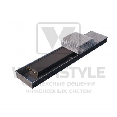 Внутрипольный конвектор Heatmann серии Line 80х250х2800 мм