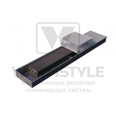 Внутрипольный конвектор Heatmann серии Line 80х250х3500 мм
