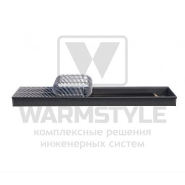 Внутрипольный конвектор Heatmann серии Line 90х300х4500 мм