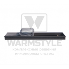 Внутрипольный конвектор Heatmann серии Line 90х300х4800 мм