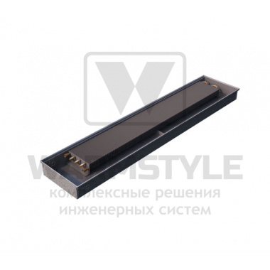 Внутрипольный конвектор Heatmann серии Line 110х425х2900 мм