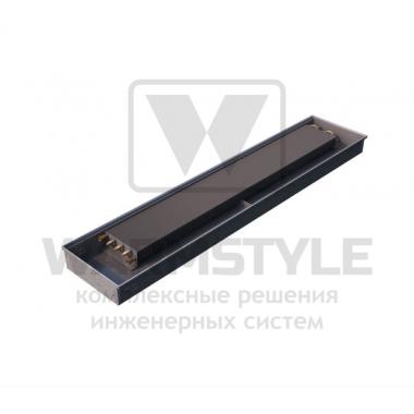 Внутрипольный конвектор Heatmann серии Line 110х425х4000 мм