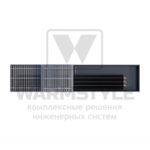 Внутрипольный конвектор Heatmann серии Line 125х250х3000 мм