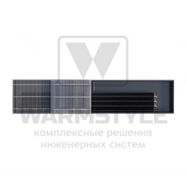 Внутрипольный конвектор Heatmann серии Line 125х250х3300 мм