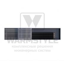 Внутрипольный конвектор Heatmann серии Line 125х250х4400 мм