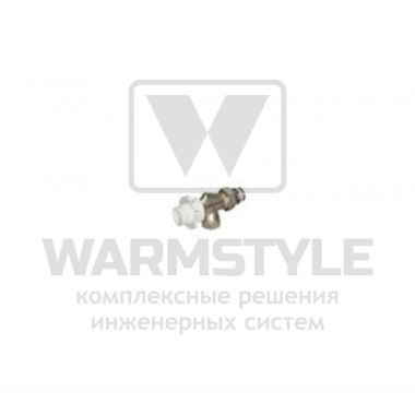Осевой термостатический радиаторный клапан Cosmo, ВР-НР