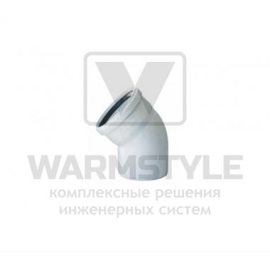 Отвод REDI Phonoline 45° d110 (уплотненный)