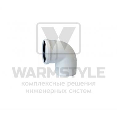 Отвод REDI Phonoline 87° d110 (уплотненный)
