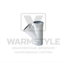Тройник REDI Phonoline 45° d40