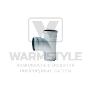 Изогнутый тройник REDI Phonoline 87° d110