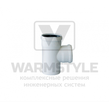 Переходной тройник 87° d90/50 (уплотненный)