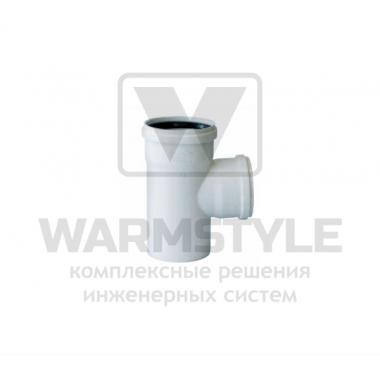 Переходной тройник 87° d110/50 (уплотненный)