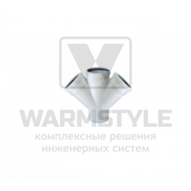 Крестовина REDI Phonoline 45° d125/125/125