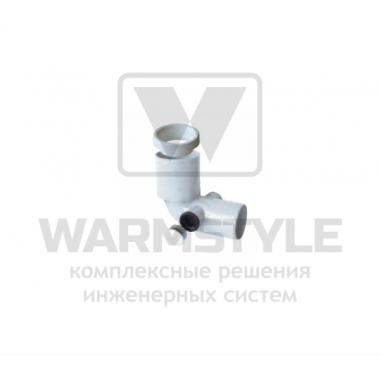 Отвод для туалета с 2-мя клеммами REDI Phonoline d100