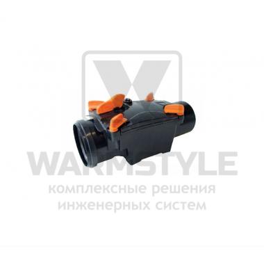 Механический канализационный затвор однокамерный с запирающейся заслонкой для гладких пластиковых труб REDI OTTIMA d 100