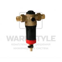 Ratio FR/FR-Hot фильтр с обратной промывкой для горячей воды SYR DN 20