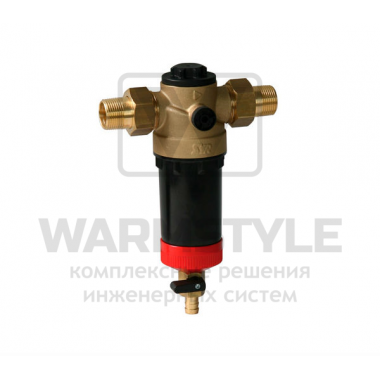 Ratio FR/FR-Hot фильтр с обратной промывкой для горячей воды SYR DN 15
