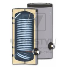 Вертикальный бойлер косвенного нагрева с увеличенным теплообменником Sunsystem SWP N 400 l (400 литров)
