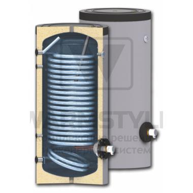 Вертикальный бойлер косвенного нагрева с увеличенным теплообменником Sunsystem SWP N 500 l (500 литров)