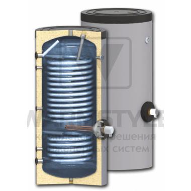 Вертикальный бойлер косвенного нагрева с двумя увеличенными теплообменником Sunsystem SWP2 N 1000 l (1000 литров)