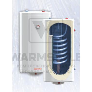 Настенный бойлер косвенного нагрева с водяной рубашкой Sunsystem BB 100 V/S1 M