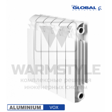 Алюминиевый радиатор Global VOX 350 (440х95x320)