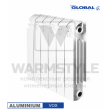 Алюминиевый радиатор Global VOX 350 (440х95x480)
