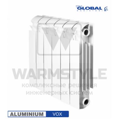 Алюминиевый радиатор Global VOX 350 (440х95x640)