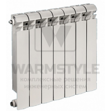 Алюминиевый радиатор Global VOX 500 (590х95x800)