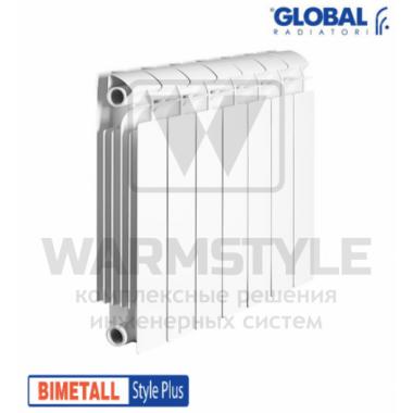 Биметаллический радиатор Global Style plus 350 (425x720x95)
