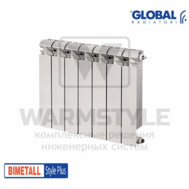 Биметаллический радиатор Global Style plus 500 (575x480x95)