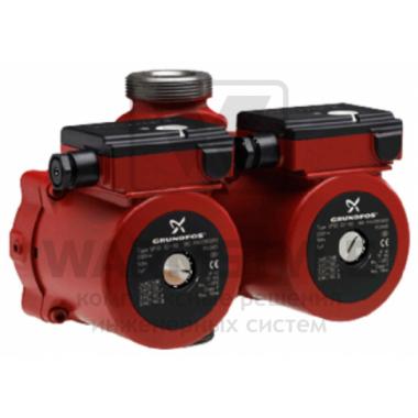 Сдвоенный циркуляционный насос Grundfos UPSD 40-100 F