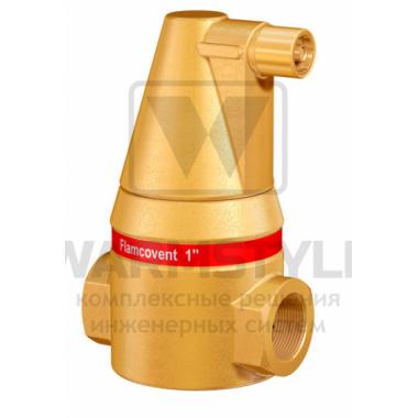 Сепаратор воздуха Flamcovent 1 1/4 с удалением микропузырьков