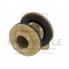 Сквозное угловое присоединение резьбовое со звукоизолирующими прокладками TECE