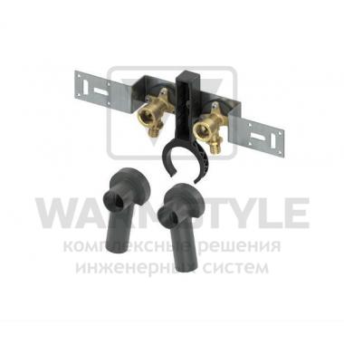 Монтажный комплект с настенными уголками для дистанционного подключения смесителя TECE