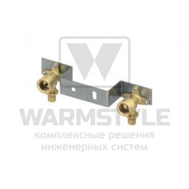 """Монтажный комплект с настенными уголками для смесителя TECE ∅ 16 мм × 1/2"""" IG"""