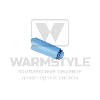 "Заглушка для опрессовки пластиковая 1/2"" AG синяя ТЕСЕ"