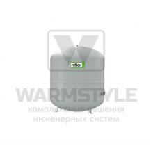 Мембранный расширительный бак для систем отопления Reflex N 80 серый