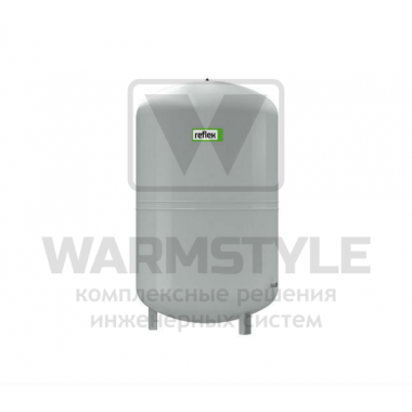 Мембранный расширительный бак для систем отопления Reflex N 400 серый