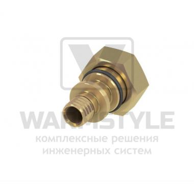 Соединение прямое с внутренней резьбой (накидная гайка, евроконус) TECE ∅ 16 мм