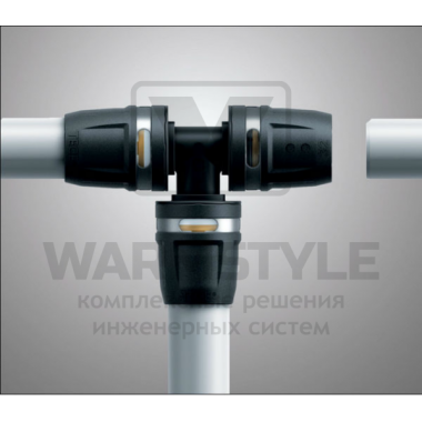 Универсальная металлополимерная труба TECElogo PE-RT/Al/PE ∅ 25 мм х 50 м