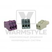 Штекер для датчиков температуры Buderus AS 1.6 и AS 1